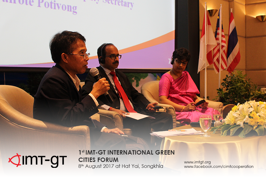 1st International Green Cities Forum in Hat Yai, Thailand