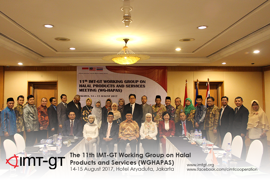 The 11th Meeting of the IMT-GT Working Group on Halal Products and Services (WGHAPAS)