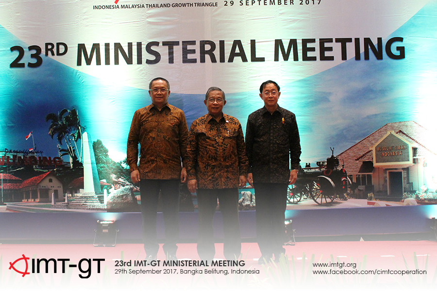 [PRESS RELEASE] THE 23rd IMT-GT Ministerial Meeting in Bangka Belitung