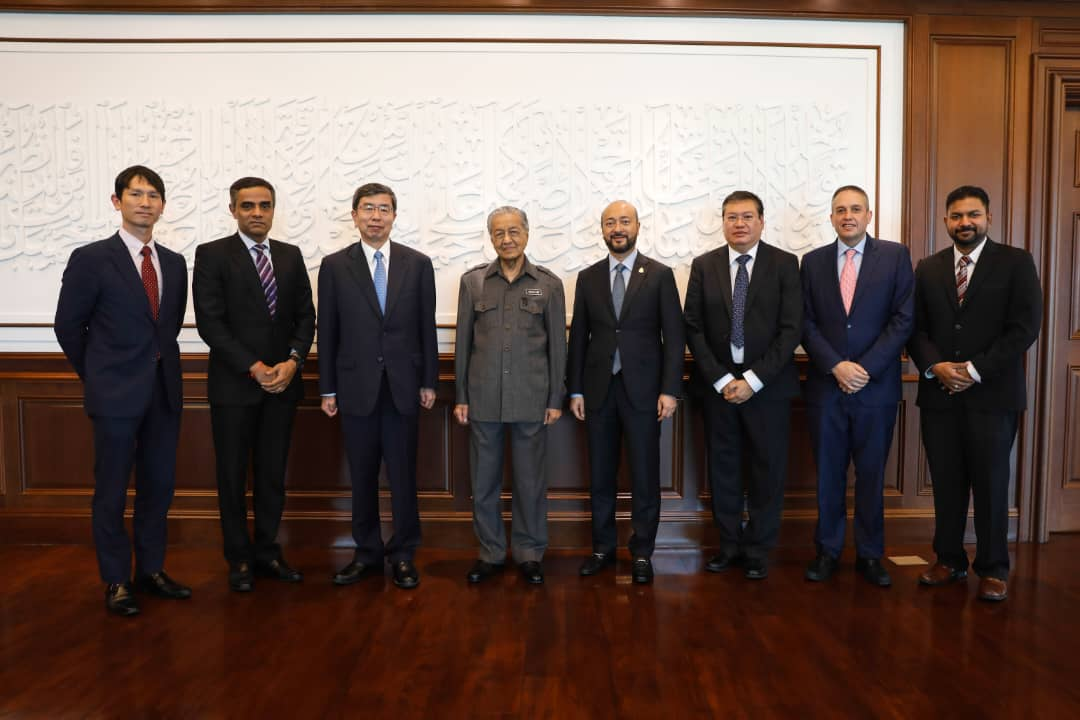 IMT-GT together with ADB met Tun M