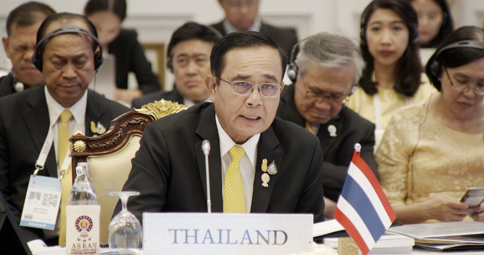 """Development of Connectivity to further Support Development in other Aspects."" – H.E Prayut Chan-o-cha, Prime Minister of Thailand"