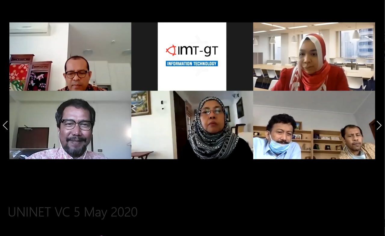 IMT-GT UNINET VIDEO CONFERENCE COORDINATION MEETING