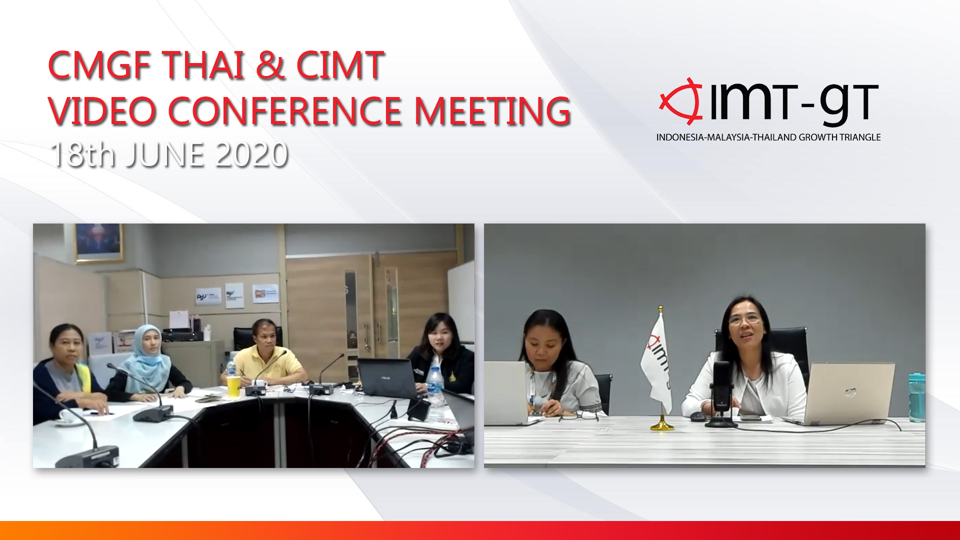 CMGF Thai & CIMT Video Conference