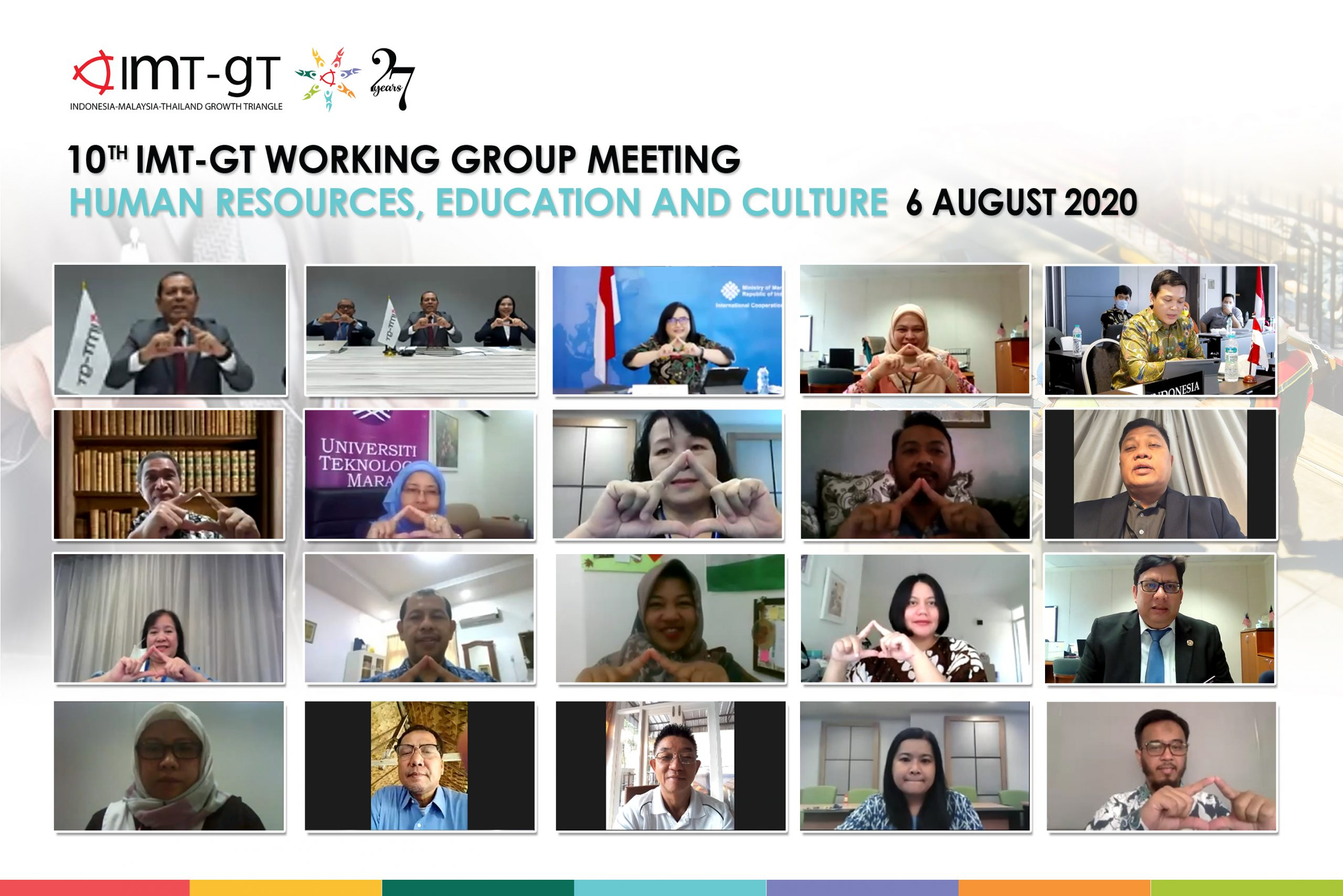10th IMT-GT Working Group on Human Resource Development, Education and Culture