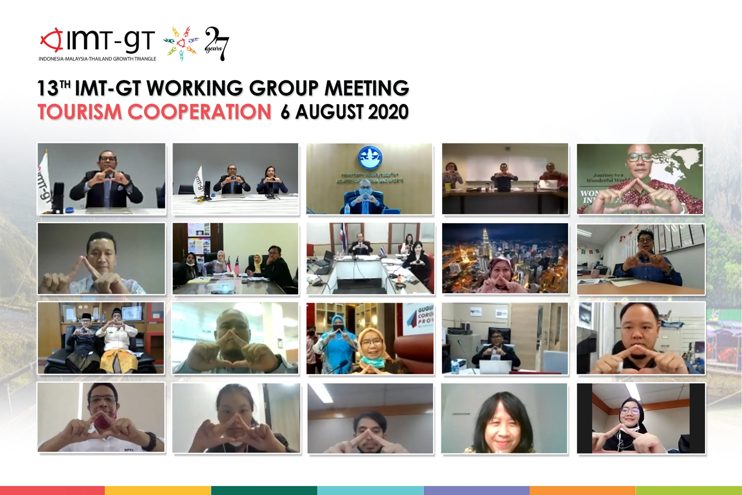 13th IMT-GT Working Group on Tourism