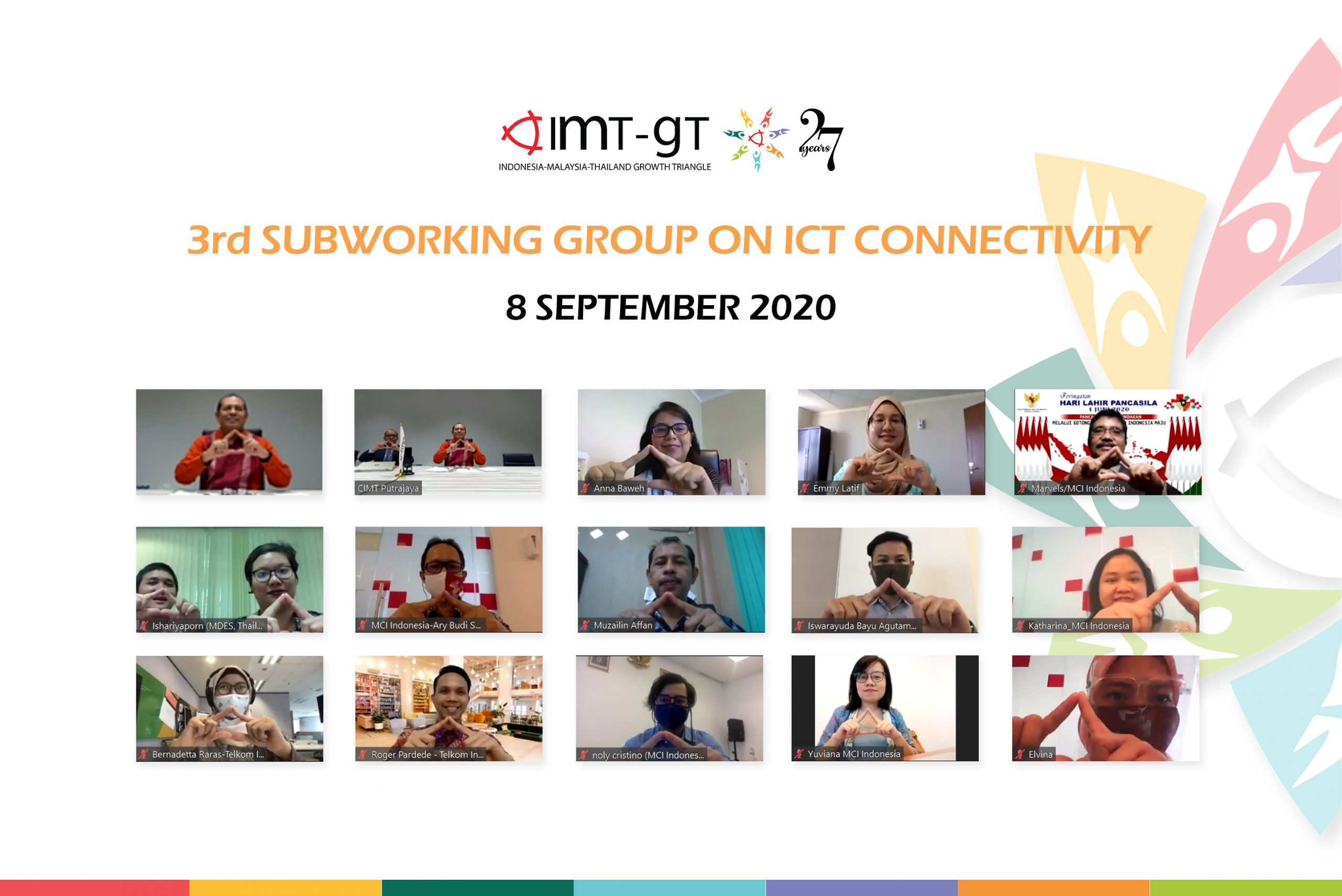 3RD IMT-GT SUBWORKING GROUP ON ICT CONNECTIVITY
