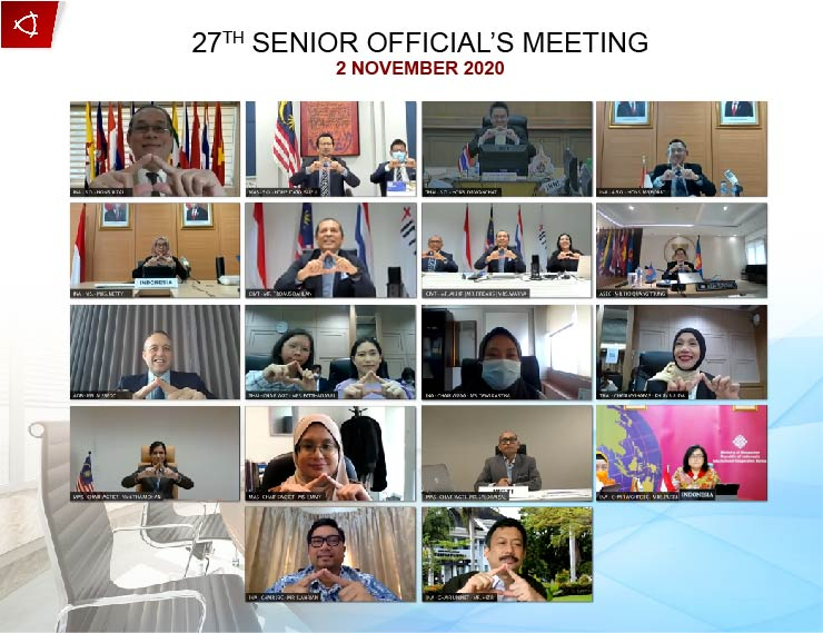 27TH SENIOR OFFICIAL'S MEETING